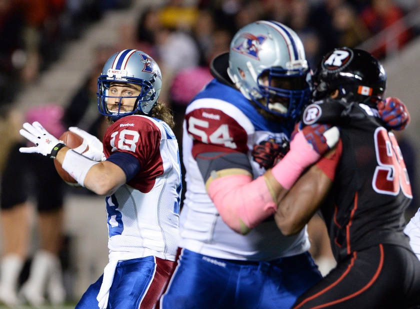 With short pass after short pass, it was death by 1000 cuts for the Redblacks