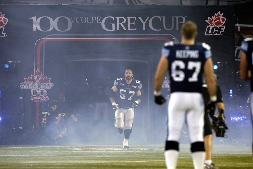 CFL: 100th Grey Cup Calgary Stampeders at Toronto Argonauts