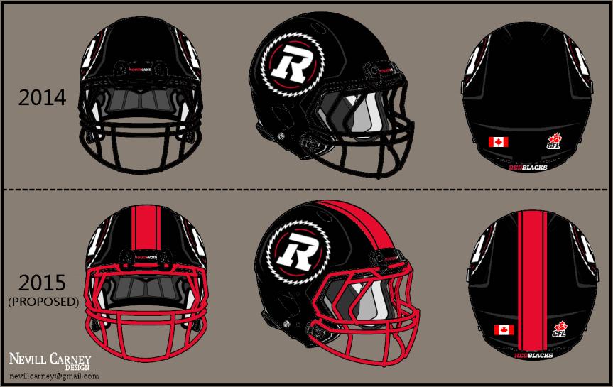 Nevill's Take: Redblacks home helmets need morered!