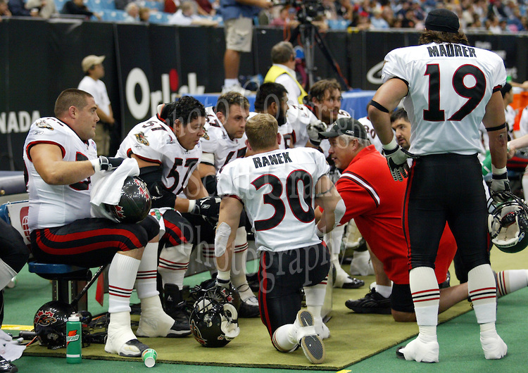 Coach Kani Kauahi Ottawa Renegades. Photo Scott Grant