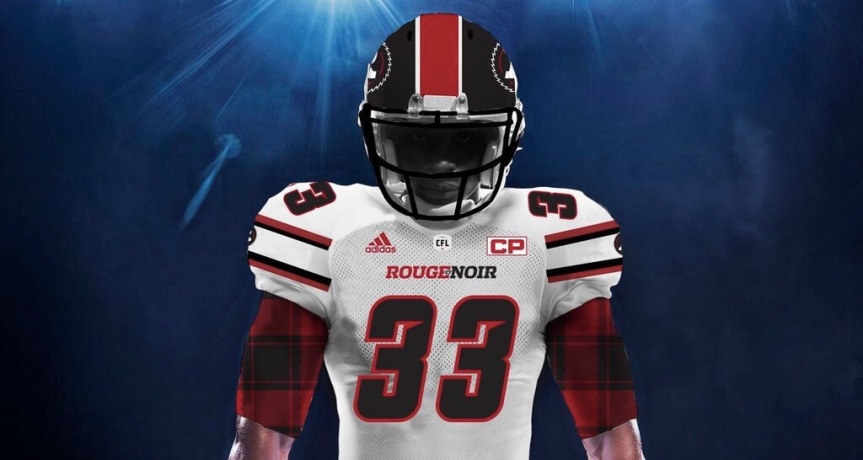 The latest Redblacks jersey concepts