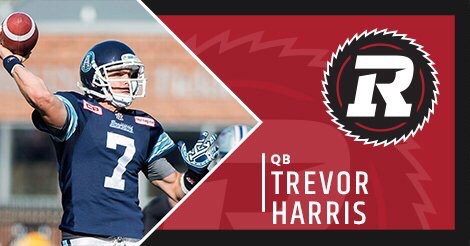 Redblacks sign QB Harris, FB Gillanders on first day of free agency