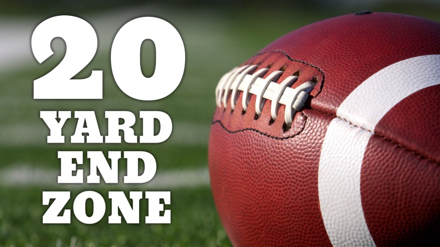 The 20-Yard End Zone Podcast – Episode 1