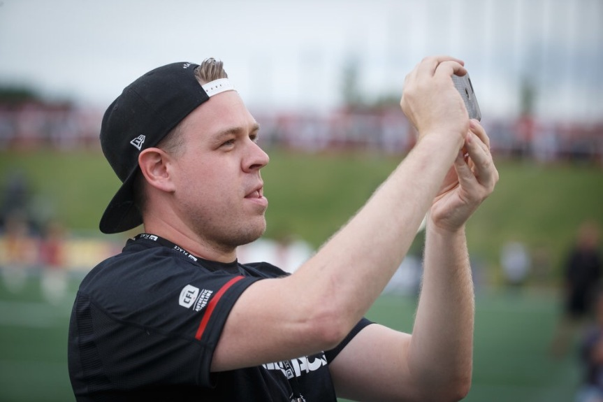 The Social: Chatting with the man behind @Redblacks, Tyler Rabb